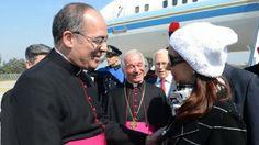 OpinionPublicaSantafesina(ops): Cristina Kirchner se reúne con el papa Francisco