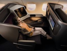 The all new Business Class from Singapore Airlines on their new Airbus A 350 XWB