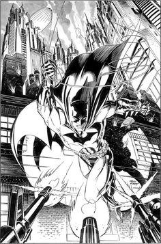 Batman by Andy Kubert.