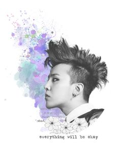 """We Belong Together"" by hanabusa ❤ liked on Polyvore featuring art, Christmas, bigbang, kpop, gdragon and kwonjiyong"