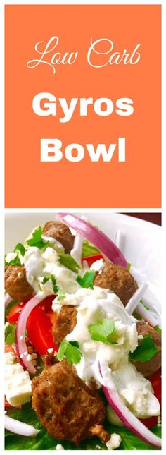 Delicious (Low Carb) gyros in less than 25 minutes No Carb Recipes, Greek Recipes, Cooking Recipes, Healthy Recipes, Healthy Dinners, Healthy Foods, Healthy Eating, Keto Foods, Keto Meal