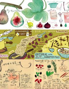 creative anchorage — A whole website of illustrated recipes?!  I'm...