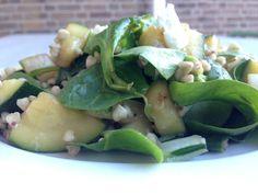 Lauwwarme boekweit salade met groene groentes  http://www.ilovehealth.nl