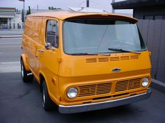 Chevy van- Took my chevy to the levy....