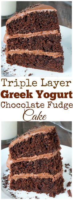 It was ok, easy to make, turned out fine.  Waaaay too much sugar, cut it back if I make it again .... Greek Yogurt Chocolate Cake