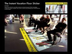 Marketing da pavimento, la pubblicità è sotto i piedi