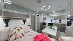 How about the gorgeous interior of this Paramount Caravans Mini Micro pop top! Caravans For Sale, Fold Out Beds, Small Rv, Have A Shower, Creature Comforts, Bunk Beds, Storage Spaces, Australia