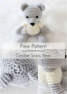 Crochet Teddy Bear - Free Pattern!
