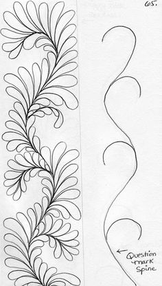 Drawing Sketches Step By Step Zentangle Patterns 65 New Ideas Tangle Doodle, Tangle Art, Zen Doodle, Doodle Art, Doodle Patterns, Zentangle Patterns, Quilt Patterns, Doodle Borders, Doodle Designs