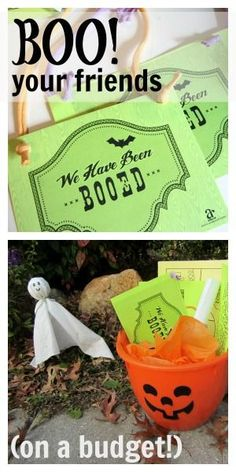 halloween giving: how to BOO! your friends (on a budget)  Guess what, friends? WE CAN STILL 'BOO!' our friends RIGHT NOW! It is the PERFECT social distancing Halloween activity!!   Check it out, make this your own, and start sharing the Halloween fun with friends, family, and neighbors!