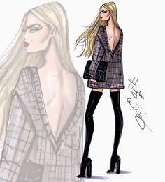 Hayden Williams Fashion Illustrations: 'Object of Desire' by Hayden Williams