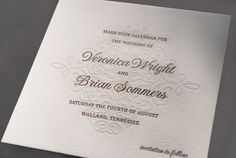 Kleinfeld Paper || Kiss the Bride Save-the-Dates || Letterpress printed on cotton paper || http://www.kleinfeldpaper.com/shop/Save-the-Date-Card-Kiss-The-Bride-P648_1_102_A10_S01_P01