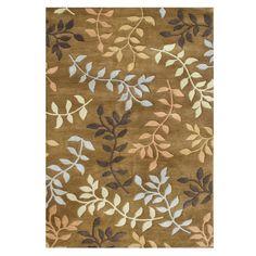 Wildon Home ® Aleea Hand-Tufted Brown Area Rug & Reviews | Wayfair