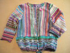 Opal sock yarn sweater