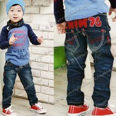 Aliexpress.com : Buy 2013 New Fashion Wholesale Jeans Baby for Girls and Boys Panties Trousers Children's Clothing Garment from Reliable jeans baby suppliers on beike's store
