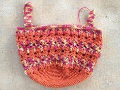 crochet cat bag, crochetbug, crochet bag, crochet stash basket, crochet tote, cat crochet tote