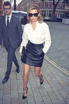 Abbey Clancy attends GINA 60th Anniversary party