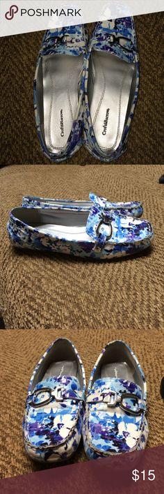 Croft & Barrow loafers Size 6.5. Style: Jill multi. Only worn a few times. croft & barrow Shoes Flats & Loafers