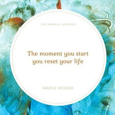 It's never too late to transform your home or your life. The life you envision begins the moment you make good on your commitment to change! Don't delay. @the.mindful.warrior . . . #konmari #joy #inspiration #change #quote #philosophy #start #imagine #newlife