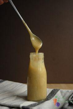 Kondenseret sojamælk - vegansk dulce de leche