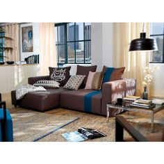 Tom Tailor Ecksofa Heaven Casual S Tom Tailor - loving room ideas Sectional Coffee Table, Coffee Tables, Loving Room Ideas, Corner Couch, Rustic Home Interiors, Contemporary Decor, Making Ideas, Toms, Living Room