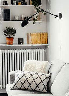my scandinavian home: The modern monochrome Stockholm space