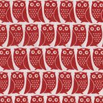 Kokka Owls - Red