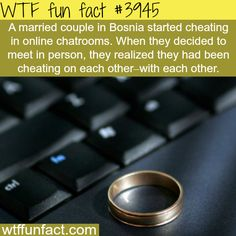 Married couple in Bosnia cheats on each other with each other - WTF fun facts