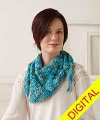 Breezy Bay #Shawl Digital #Crochet Pattern from Love of Crochet magazine, Spring 2015