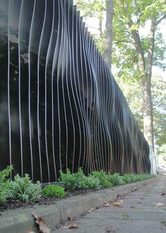 der perfekte Zaun für moderne Architektur