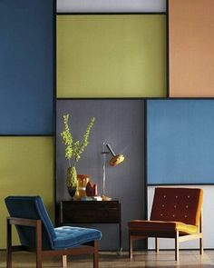 Modern living room with abstract wall design room . Modern living room with abstract wall design room