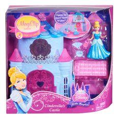 Amazon.com: Disney Princess Little Kingdom MagiClip Cinderella Playset: Toys & Games #celebnyc #magiclip
