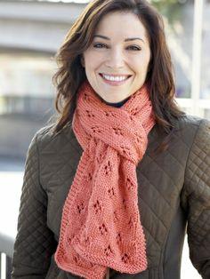Women's Interchangeable Scarves | Yarn | Free Knitting Patterns | Crochet Patterns | Yarnspirations