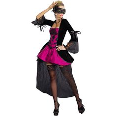 Sexy Venetian Masquerade Costume and other apparel, accessories and trends. Browse and shop related looks.