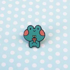 Froggy Pal Pin – babyfrog shop