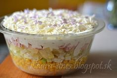 Slovak Recipes, Oatmeal, Vitamins, Healthy Recipes, Healthy Food, Food And Drink, Pudding, Vegetarian, Ale