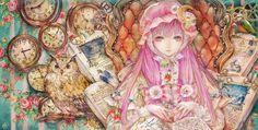 "Yogisya, ""Clockwork and Owl"". Beautiful."