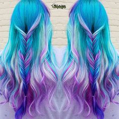 "Unicorn Melt  by @hairbykaseyoh ""Been promising my long time client…                                                                                                                                                                                 More"