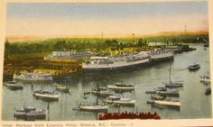 Victoria's Inner Harbour Boat Plans, History Facts, British Columbia, West Coast, Vancouver, Coastal, Ships, River, Outdoor