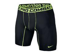 the latest 3fbf3 e7a96 Nike Pro Combat Core 2.0 Compression Men s Shorts Color  Black Volt Size  XL