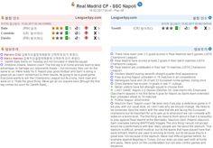 [축구] 02/16 04:45 UEFA CL ★ 레알 마드리드 CF - SSC 나폴리