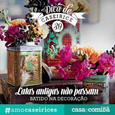 50 jeitos de enfeitar a festa, a mesa e a casa com flores - Casa e Jardim | Galeria de fotos
