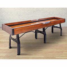 Well Universal Vintage 9ft Shuffleboard Table