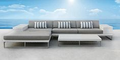 Outdoor Patio Wicker Furniture Sofa Sectional 3pc Resin Couch Set