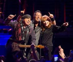 Bruce Springsteen, Stevie Van Zandt and Patti Scialfa The River Tour 2016