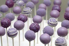 purple cake pops | Purple Cake Pops | Flickr - Photo Sharing!