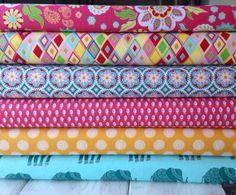 Riley Blake Fabric Bundle Madhuri  Yard Bundle   by FabricTree, $54.00