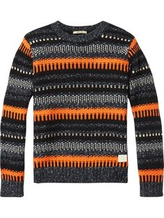 Shop the latest boy's clothing and apparel from the official Scotch Shrunk webstore. Kids Knitting Patterns, Knitting For Kids, Scotch Shrunk, Scotch Soda, Boys Sweaters, Men Sweater, Wool Blend, Pullover, Clothes