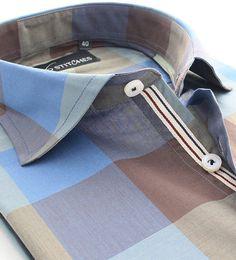 A clean cut checks pattern for the modern day Gentlemen! Log on to 16Stitches.com now. #menswear #mensstyle #mensfashion #summer #style #fashion #trend #trendy #shirts #luxury #formal #fb #formals #formalwear #classy #classic #classymen #dapper #dappermen #instalike #instagood Smart Casual Shirts, Bespoke Shirts, Flannel Fashion, Style Fashion, Mens Fashion, Classy Men, Dapper Men, Cut Shirts, Collar And Cuff