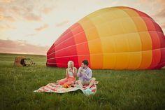 hot air balloon engagements #shaunmenary.com/